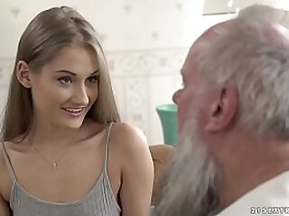 old guy fucks young pussy