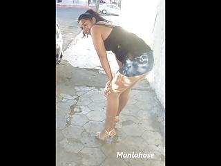 Prostituta Mexicana in pantyhose 3