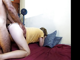 Real amateur housewife am doggy quickie clapping