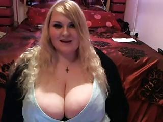 British BBW Showing Off Her Mammoth Tits 2