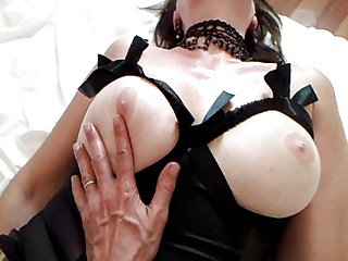 oiled breast...