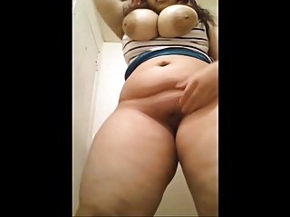 Waah Teen Beauty with effectively boobs n effectively ass Self Shot