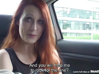 Pro STOP - Outdoor intercourse nearby slutty redhead