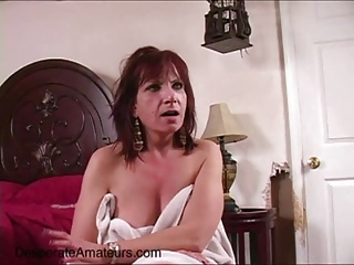Casting Angie Desperate Amateurs buckle down to milf cougar need
