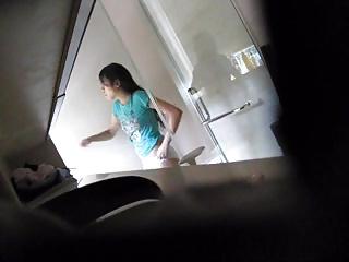 Cute singapore girl shower