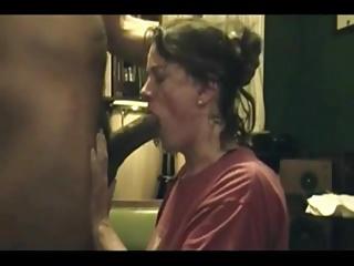housewife lass bbc deep blowjob