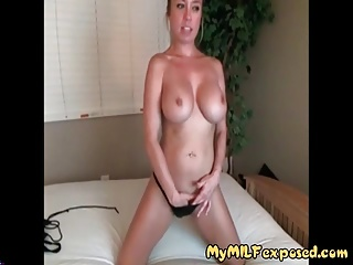 My MILF Exposed Busty wife on recorder video for the brush BF