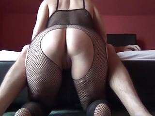 Round botheration spanking catsuit, than fuck