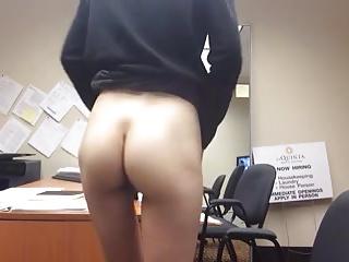 Office Masturbation
