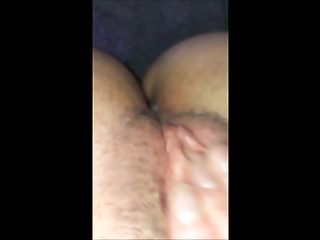 UK Wife Squirts and Gapes films herself