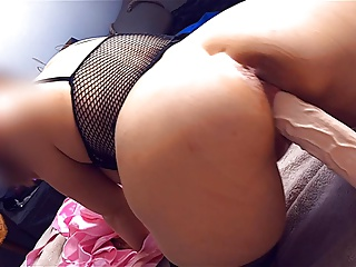 Big ass mommy is a huge dildo whore (cum compel me)