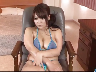 Big tits milf, Airi Ai, wants cock in each be advisable for her holes