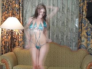 Cute University Slut Strips