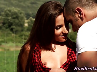 Bigass eurobabe anally banged gone away from