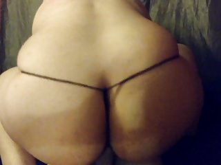Chubby Wife Bouncing On My Cock