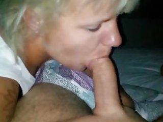 Blasen mit Sperma, BJ with cum