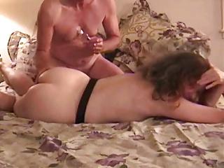 Mature couple gets fun