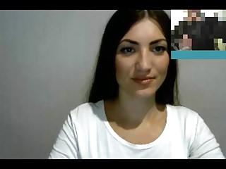 Hot 38 year Russian mature dissimulate in skype