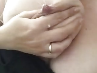 Sucking Her Lactating Tits
