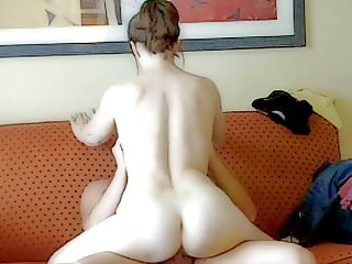 Mom riding Ken's cock back our hotel room