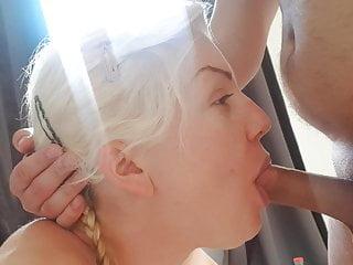 German hooker deepthroat blowjob