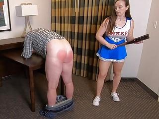 Cheerleader Punishment