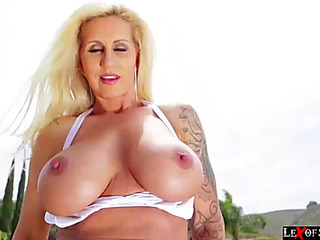 Breasty ryan acquires say no to fur pie and booty teamfucked