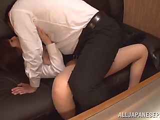 Benumbed sexy cowgirl giving uninhibited uttered sex previous to brute fucked