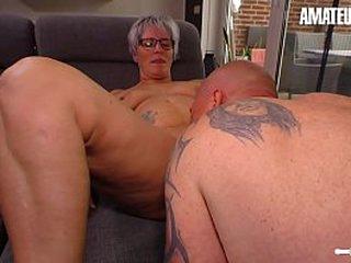 Dilettante EURO - Ill-behaved Adult Wife Brigitte T. Has Hot Sex Alongside Their way BFF