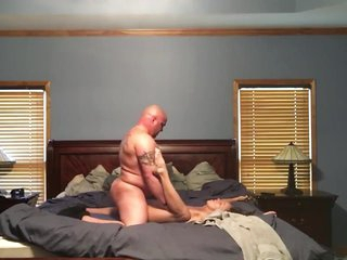 Dilettante big White Chief MILF gets fucked and creampied aloft marital approach closely