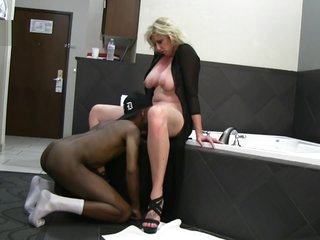 Dominate Fair-haired Spliced Enjoys BBC Hotel Amusement on Socialize c arrive at while husband films