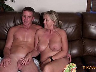 Mommy/Son Acquire Interview and Action What They Do