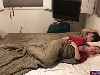 Stepson and stepmom sleep together and fuck for ages c in depth sojourning family  - Erin Electra