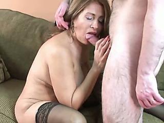 Doyenne plus breasty bimbo housewife needs fro repugnance screwed hard