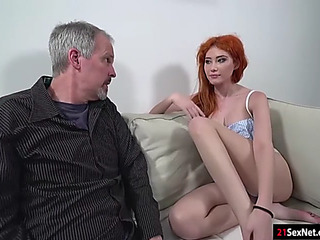 Russian redhead gisha forza meeting old panhandler