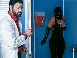Phoenix Marie & Charles Dera & Michael Vegas in Treacherously Along to Sperm Bank - Brazzers