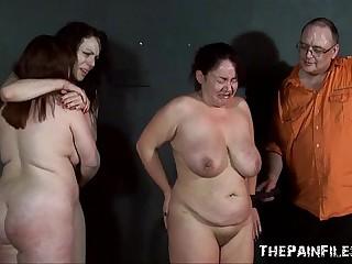 Three slavegirls whipping and extreme corrigendum to tears be beneficial to amateurish slavesluts