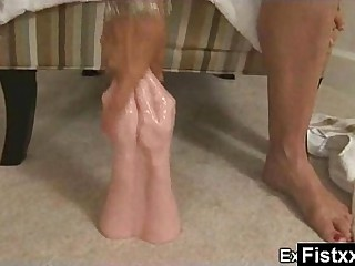 Marvelous Blistering Fisting Knockout Tight Fucked