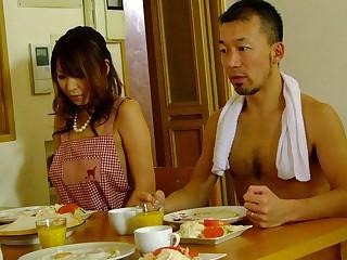 Jun Kusanagi & Yuri Aine in Yuri Aine with an increment of Jun Kusanagi having fun while naked with be transferred to family - AviDolz