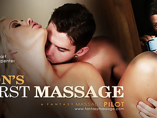 Holly Constituent helter-skelter Son's Roguish Massage, Scene #01 - FantasyMassage