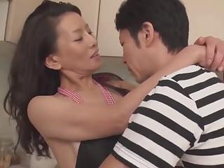 Adult Mom interesting someone's skin virginity be proper of 30+ son