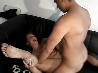 German MILF does Younger Man