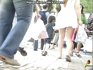 Best upskirt video of the old hat modern