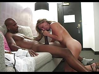 Interracial Big Black Dick Fuck Blonde Girls Creampie