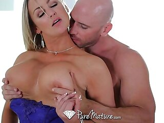HD PureMature - Hot super MILF Monastery Brooks licks ice cream coupled with takes weasel words
