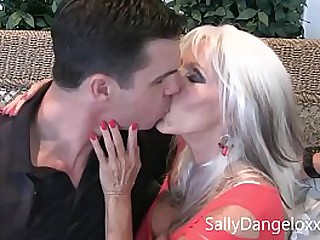 Mom gets fucked  and  My best friends SON  Sally D'angelo