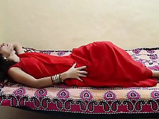 Indian prop cognizant passionate foreplay and mamma massage