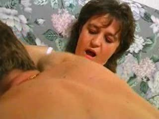 French Hairy woman getting fucked good