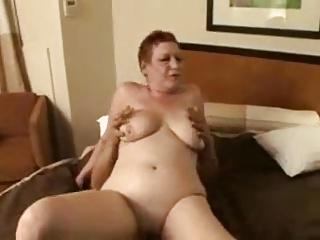 redhead granny hooker shagging