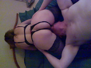Miss Suzie having her pussy made unerring n Wet